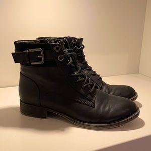 ALDO combat style boots